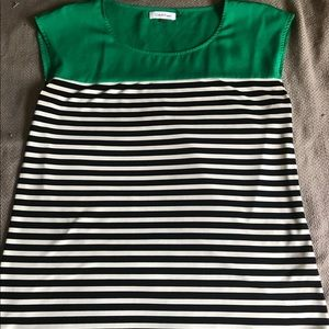 Large Stripped Calvin Klein Blouse